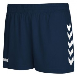 Pantalons curts CORE W blau marí HUMMEL