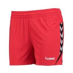 Pantalón corto rojo Auth.Charge W HUMMEL
