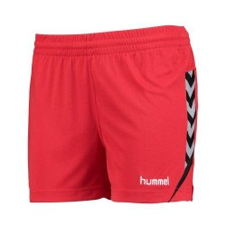 Pantalons curts vermells Authentic Charge W HUMMEL