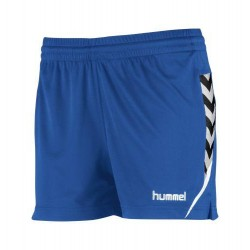 Pantalons curts blau royalAuthentic Charge W negre HUMMEL