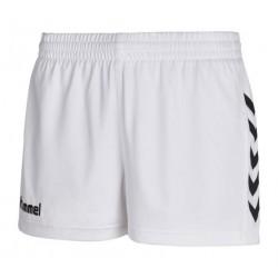 Pantalón corto blanco Core Women HUMMEL
