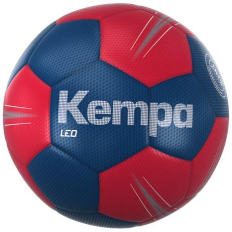 Pilota d'handbol Leo blau marí/vermell KEMPA