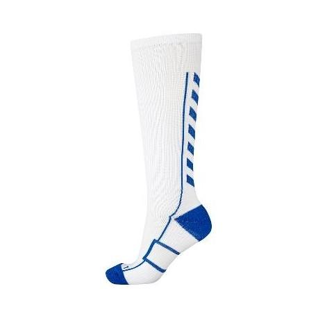 Mitjons llargs blanc/blau HUMMEL