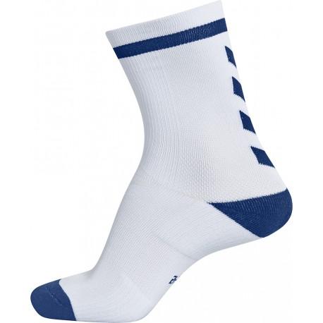 Calcetines Elite blanco/azul HUMMEL