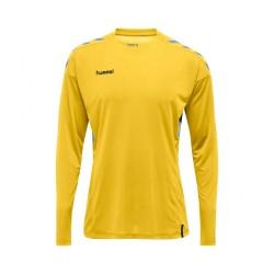 Camiseta manga larga amarillo Tech Move HUMMEL