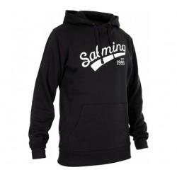 Dessuadora negre caputxa Logo Hood SALMING