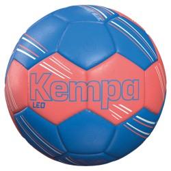 Pilota d'handbol taronja fluo/blau KEMPA