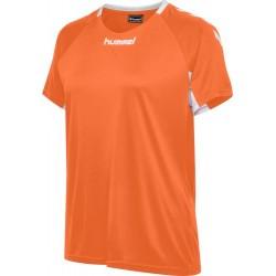 Samarreta de dona taronja Core Team Jersey HUMMEL