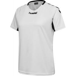 Camiseta de mujer naranja Core Team Jersey HUMMEL