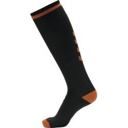 Calcetines Elite largos negro/naranja HUMMEL