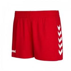 Pantaló curt vermell COREW HUMMEL