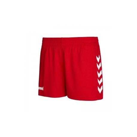 Pantalón corto rojo CORE W HUMMEL