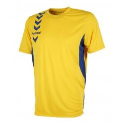 Camiseta Essential amarilla HUMMEL