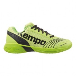 Zapatilla de balonmano Attack Junior verde KEMPA